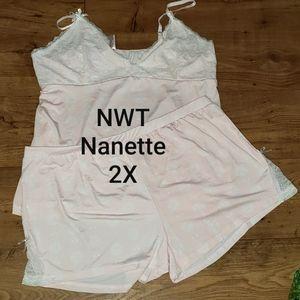NWT Nanette Sleepwear Set 2X